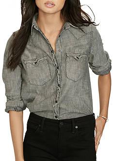 Denim & Supply Ralph Lauren Chambray Western Shirt