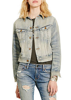 Denim & Supply Ralph Lauren Webster Cropped Denim Jacket
