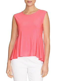 CeCe Sleeveless Swing Knit Top