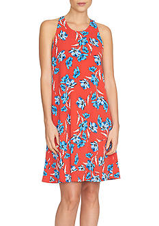 CeCe Floral Dance Knit Dress