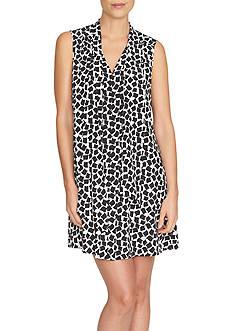 CeCe Sleeveless Abstract Confetti Dress