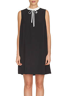 CeCe Peter Pan Collared Dress