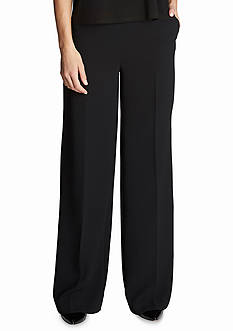 CeCe Solid Wide Leg Pants