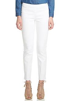 CeCe Side Zip Skinny Jeans
