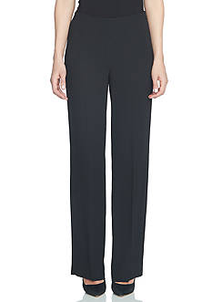 CeCe Crepe Straight Leg Pants