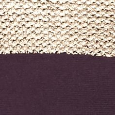 Womens Designer Clothing: Sweaters: Plum Perfect Nine West Jeans Piper Foil Print Sweater