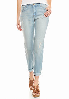 Nine West Jeans Alec Slim Boyfriend Ankle Jeans