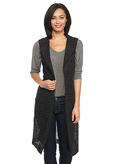 Nine West Jeans Alyce Long Vest