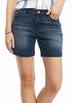 Nine West Jeans Gramercy Midi Shorts