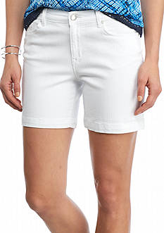 Nine West Jeans Gramercy Midi Shorts