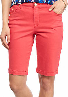 Nine West Jeans Gramercy Bermuda Shorts