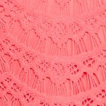 Sleeveless Shirts For Women: Coral Cast Kaari Blue™ Sleeveless Lace Top