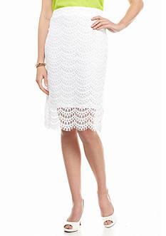 Kaari Blue™ Lace Midi Skirt