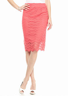 Kaari Blue™ Lace Midi Skirt