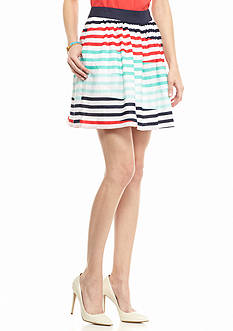 Kaari Blue™ Flirty Stripe Skirt