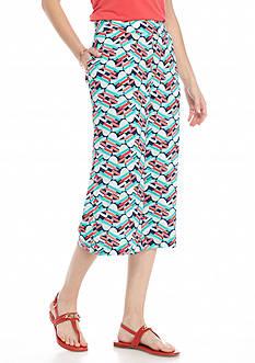 Kaari Blue™ Printed Soft Capri Pant
