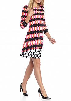 Kaari Blue™ Geo Print Swing Dress