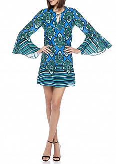 Kaari Blue™ Bell Sleeve Shift Dress