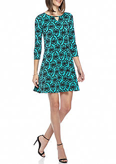 Kaari Blue™ Three Quarter Sleeve T-Shirt Dress
