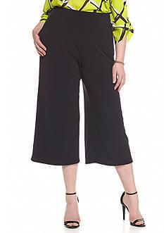 Kaari Blue™ Plus Size Solid Soft Capri