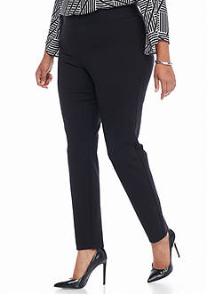Kaari Blue™ Plus Size Ponte Leggings - Short