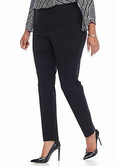 Kaari Blue™ Plus Size Ponte Leggings - Short