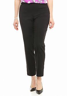 Kaari Blue™ Plus Size Tech Twill Slim Ankle Pant - Short Length