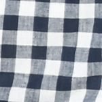 Juniors Red Camel®: Navy/ Ivory Plaid Red Camel Buttoned Plaid Shirt