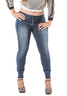Standards and Practices Plus Size Skinny Knit Denim Jogger