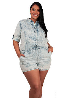 Standards and Practices Plus Size Peggy Tencel Romper
