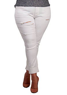 Standards and Practices Plus Size X-Boyfriend Destroy Jeans