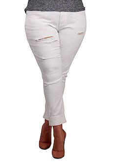 Standards and Practices Plus Size X-Boyfriend Destroy Jeans