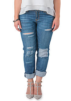 Standards and Practices Plus Size Boyfriend Jean
