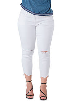 Standards and Practices Plus Size White Skinny Jean