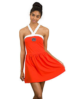 Flying Colors Auburn Tigers Touchdown Twist Dress