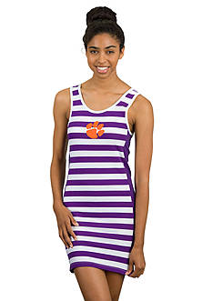 Flying Colors Clemson Tigers Tight End Tank Dress