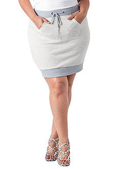 Poetic Justice Sasha French Terry Skirt