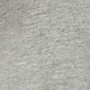 Knit Tops for Women: Light Heather Grey H. Bordeaux Bubble Hem 2Fer