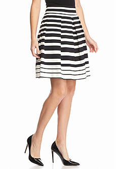ENNYLUAP Short Full Stripe Skirt