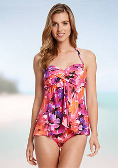 Karen Kane Poppy Dreams Fly Tankini