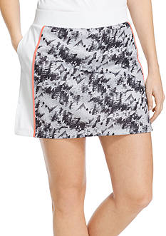 IZOD Golf Women's Panel Printed Knit Skort