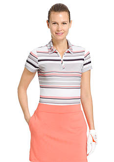 IZOD Golf Women's Striped Polo Shirt