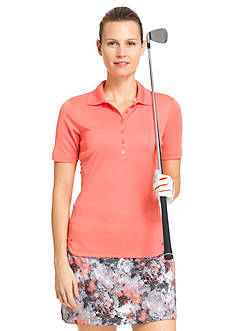 IZOD Golf Women's Solid Polo Shirt