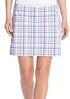 IZOD Golf Women's Plaid Skort
