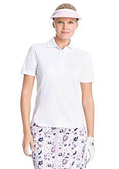 IZOD Golf Women's Solid Tulip Hem Polo Shirt
