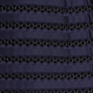 Skirts for Juniors: Navy freestyle revolution Textured Cupcake Skirt