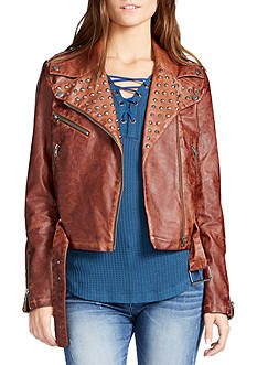 WILLIAM RAST™ Kate Pleather Moto Jacket