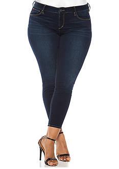 SLINK JEANS Plus Size Summer Ankle Jegging