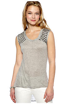 circles and cycles Stud Shoulder Tank