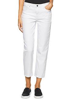Calvin Klein Jeans Cropped Straight Leg Jean